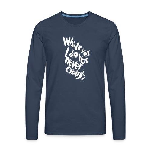 WIDINE WHT - Maglietta Premium a manica lunga da uomo