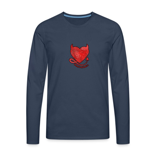 HEART OF HELL! - T-shirt manches longues Premium Homme