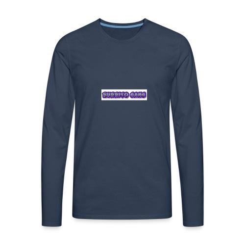 BURRITO GANG MALLISO - Miesten premium pitkähihainen t-paita