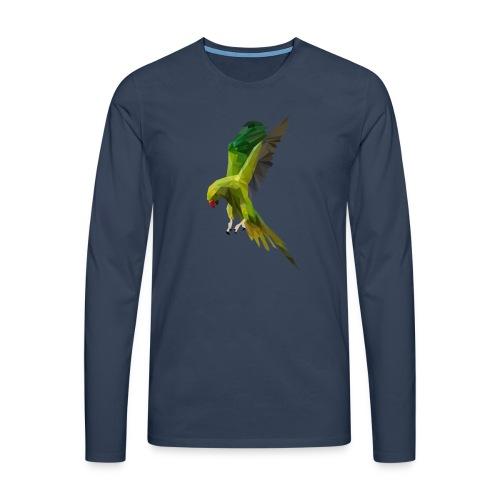 PERROQUET - MINIMALISTE - T-shirt manches longues Premium Homme