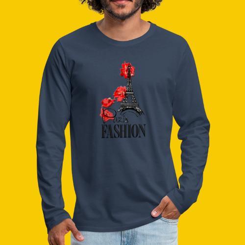 PARIS FASHION - T-shirt manches longues Premium Homme