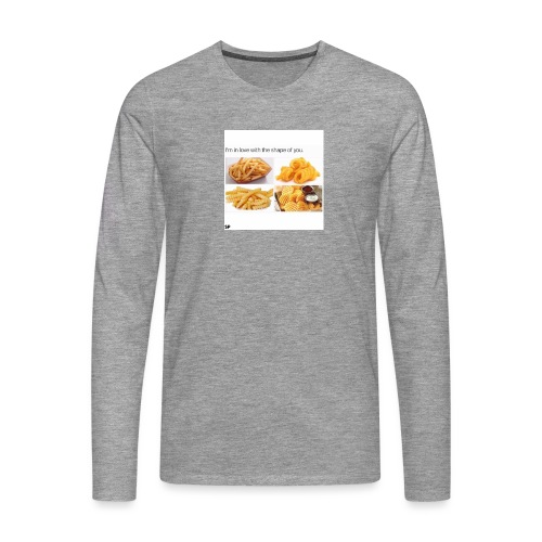 Shape - Männer Premium Langarmshirt