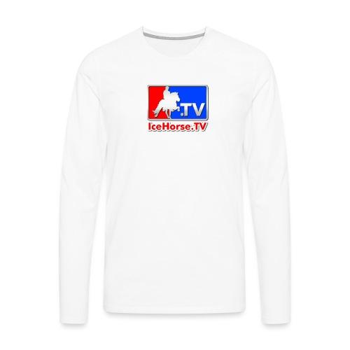 IceHorse logo - Men's Premium Longsleeve Shirt