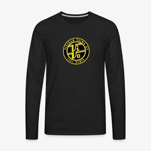 ViVo Since 1971 - Miesten premium pitkähihainen t-paita