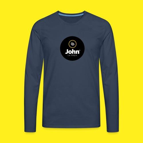 logo john - Camiseta de manga larga premium hombre