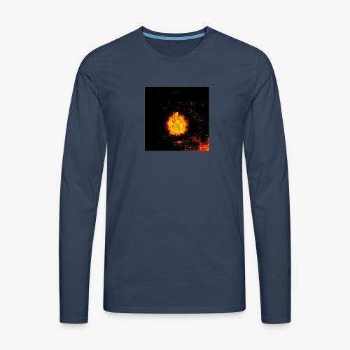 FIRE BEAST - Mannen Premium shirt met lange mouwen