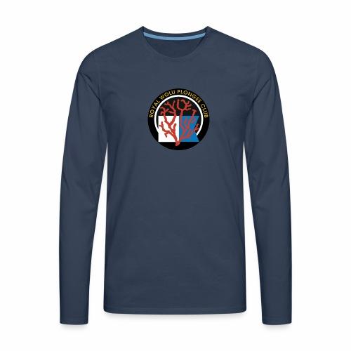 Royal Wolu Plongée Club - T-shirt manches longues Premium Homme