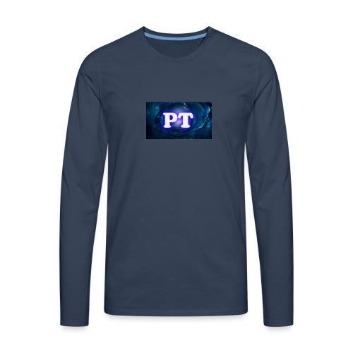 Project T Logo - Men's Premium Longsleeve Shirt