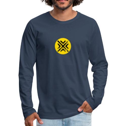Símbolo Central - Camiseta de manga larga premium hombre