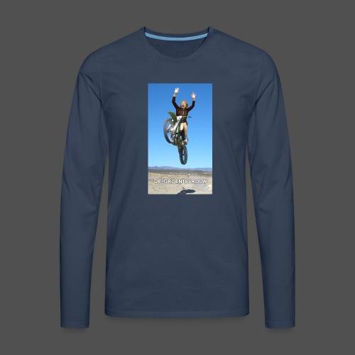 Stuntvrouw (v) - Mannen Premium shirt met lange mouwen