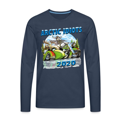 Arctic Idiots 2020 - Mannen Premium shirt met lange mouwen