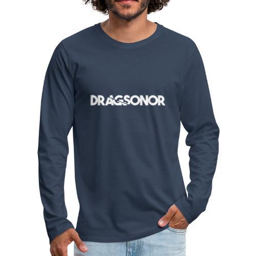 DRAGSONOR white - Men's Premium Longsleeve Shirt