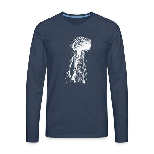 Jellybrain - Männer Premium Langarmshirt