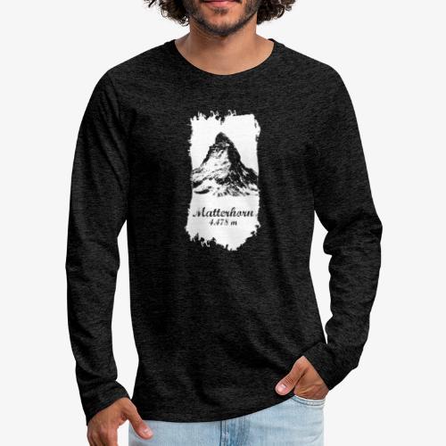 Matterhorn - Cervino - Men's Premium Longsleeve Shirt