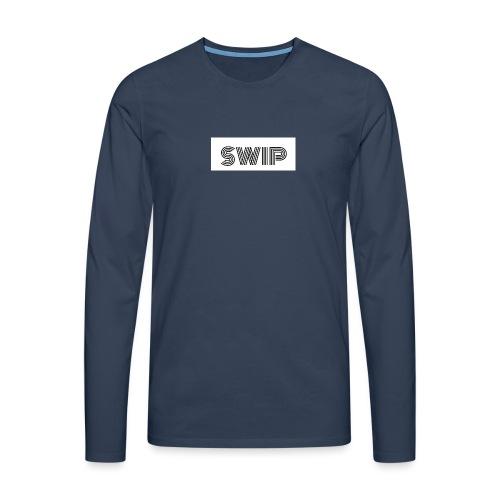 logo boîte SWIP - T-shirt manches longues Premium Homme