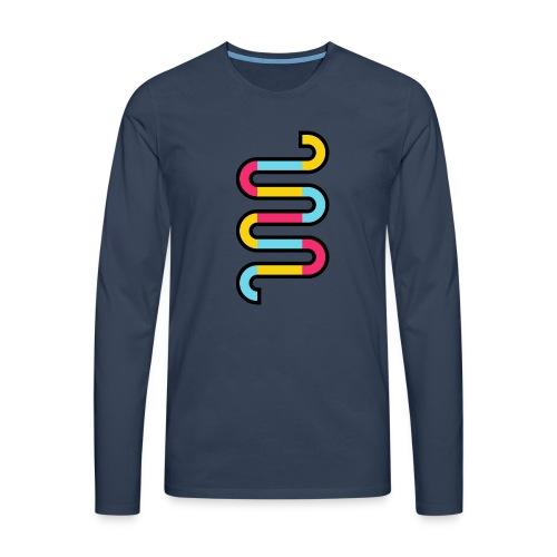 Die DNA deines Unternehmens - Männer Premium Langarmshirt