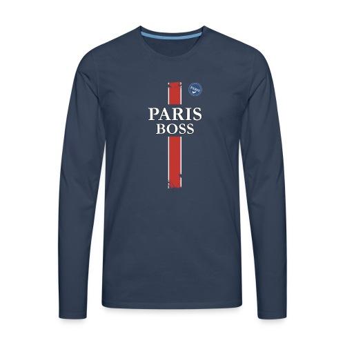 parisfinal11.png - T-shirt manches longues Premium Homme