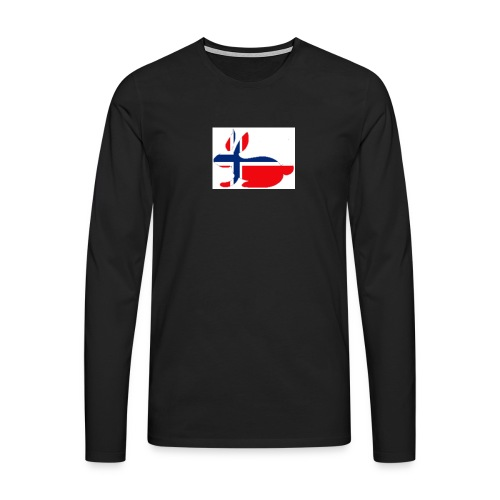 bunny_NY_LOGO_LI - Men's Premium Longsleeve Shirt