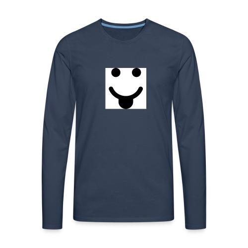 smlydesign jpg - Mannen Premium shirt met lange mouwen