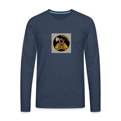 THbutton 32Srgb400 - Miesten premium pitkähihainen t-paita