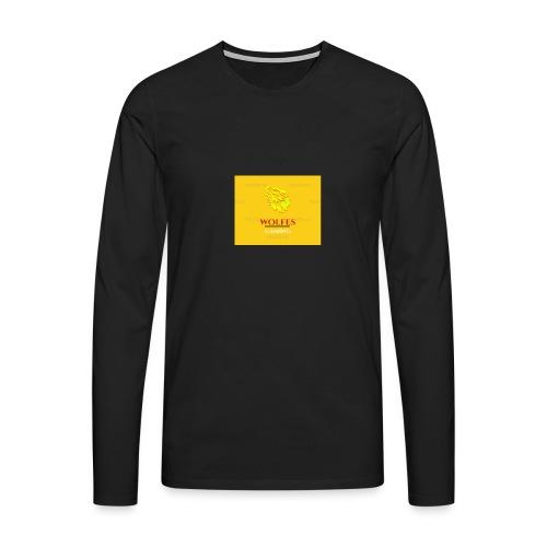 wolfes - Herre premium T-shirt med lange ærmer