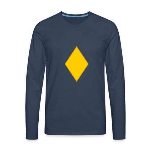 Upseerioppilas - Miesten premium pitkähihainen t-paita