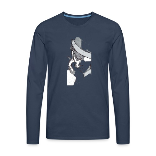 tom2 - Maglietta Premium a manica lunga da uomo