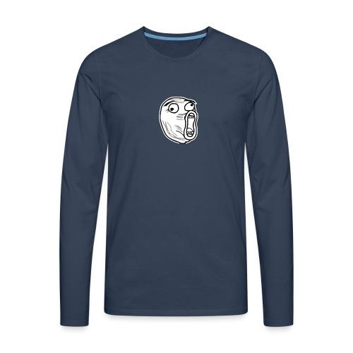 LOL - Mannen Premium shirt met lange mouwen