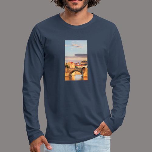 magazine unlock 05 2 3 1299 474002B37859192183180 - Miesten premium pitkähihainen t-paita