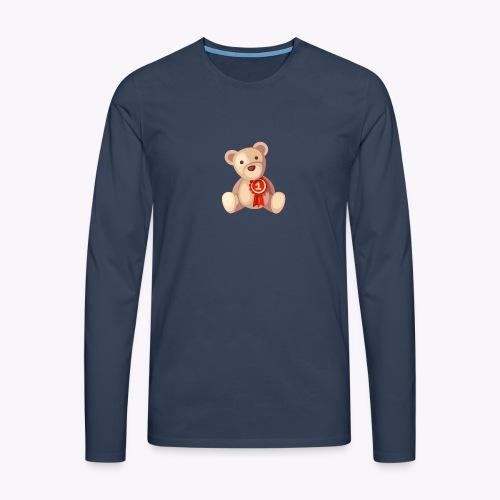 Teddy Bear - Men's Premium Longsleeve Shirt
