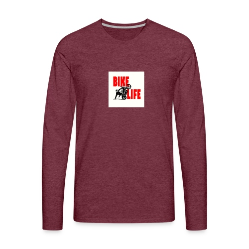 KEEP IT BIKELIFE - Men's Premium Longsleeve Shirt