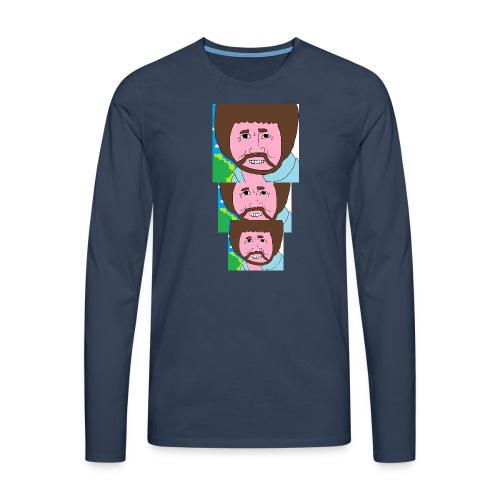 Bob Ross - Men's Premium Longsleeve Shirt