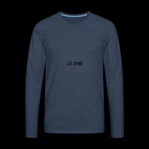 Le Zone Officiel - Herre premium T-shirt med lange ærmer