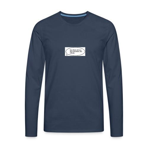 deine-mutter-witze-0 - Men's Premium Longsleeve Shirt