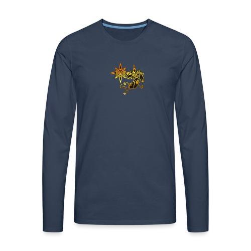digimon - Camiseta de manga larga premium hombre