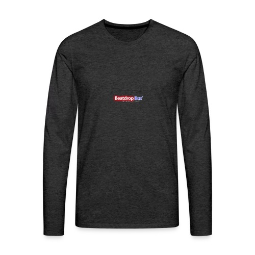 beatdropbox logo final and hires - Mannen Premium shirt met lange mouwen