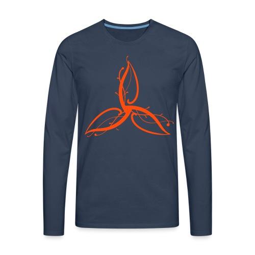 Triple Déesse Wicca - T-shirt manches longues Premium Homme