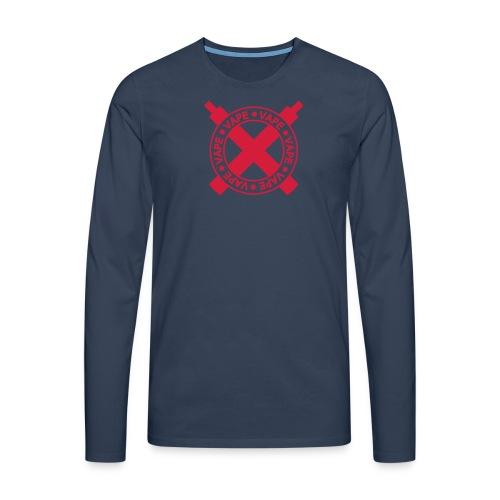 tshirt vapecross 1 exp - T-shirt manches longues Premium Homme