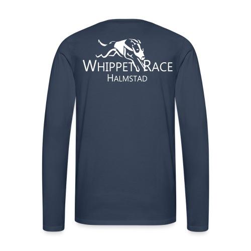 wr original - Långärmad premium-T-shirt herr