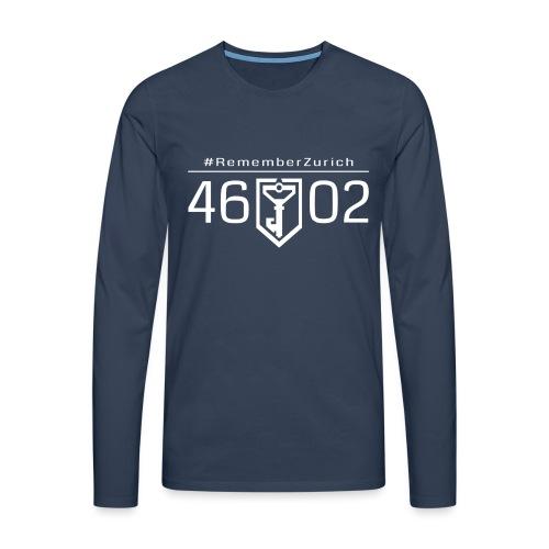 46 02 front - T-shirt manches longues Premium Homme