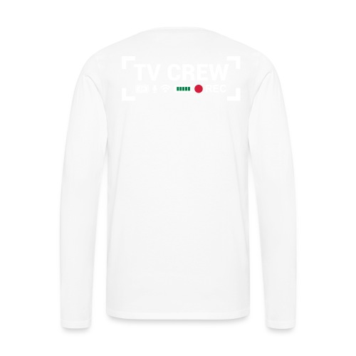 TV Crew - Maglietta Premium a manica lunga da uomo
