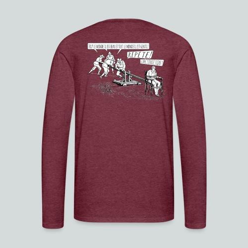 Toute le monde il est gentil ! - T-shirt manches longues Premium Homme