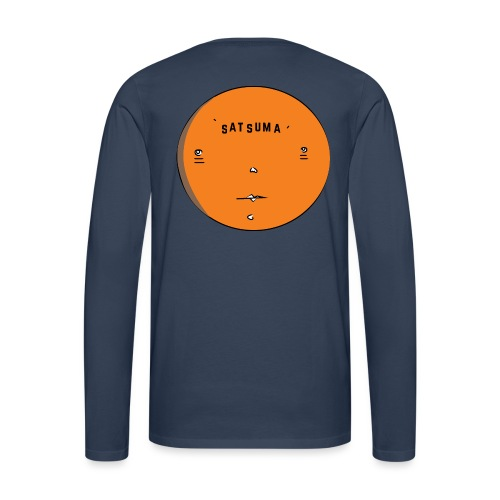 SATSUMA FACE - Men's Premium Longsleeve Shirt