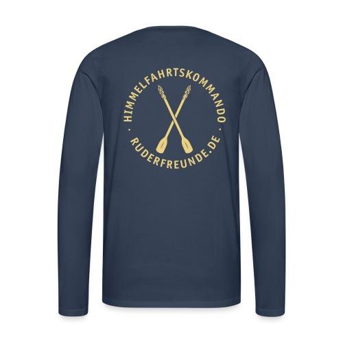 ruderfreunde03v - Männer Premium Langarmshirt