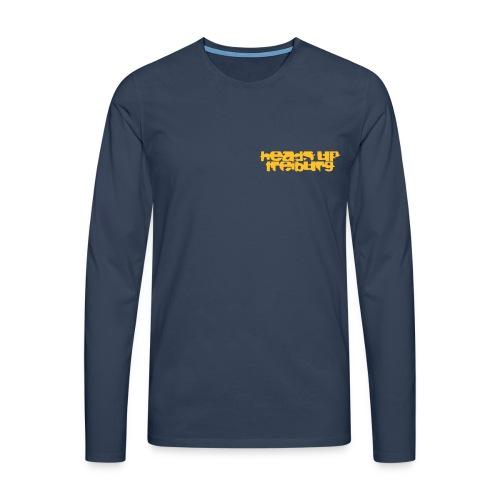 huschriftGroß - Männer Premium Langarmshirt