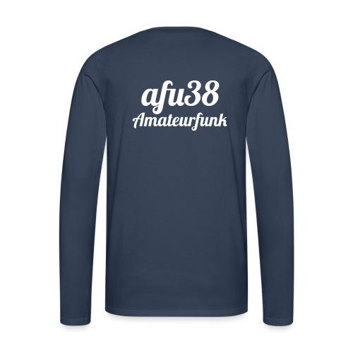 afu38 Amateurfunk - Männer Premium Langarmshirt