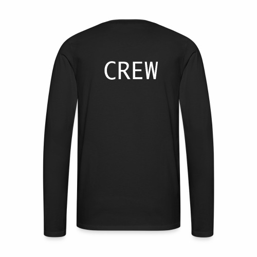 Crew Shirt - Männer Premium Langarmshirt