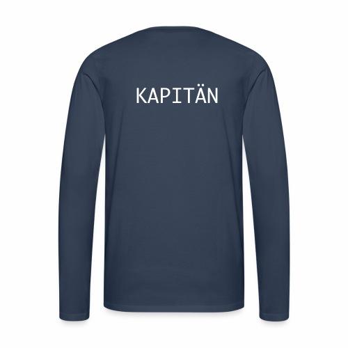 Kapitän Shirt - Männer Premium Langarmshirt