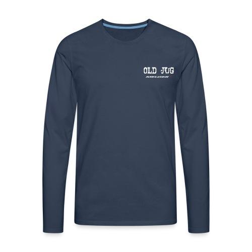 ru cken - Männer Premium Langarmshirt