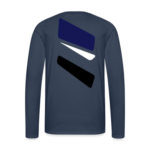 3 strikes triangle - Men's Premium Longsleeve Shirt